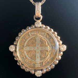 Virgin Saints and Angels necklace